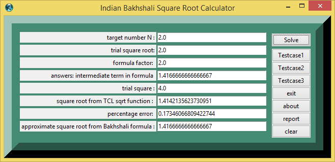 Indian Bakhshali Square Root Algorithm calculator png