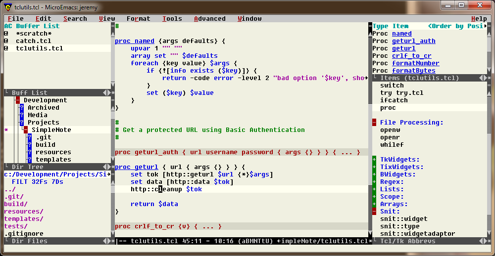 MicroEmacs_ScreenShot
