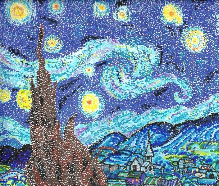 pointillism_versionOf_starryNight_by_mysticspirits_deviantart_colorDots_705x599.jpg
